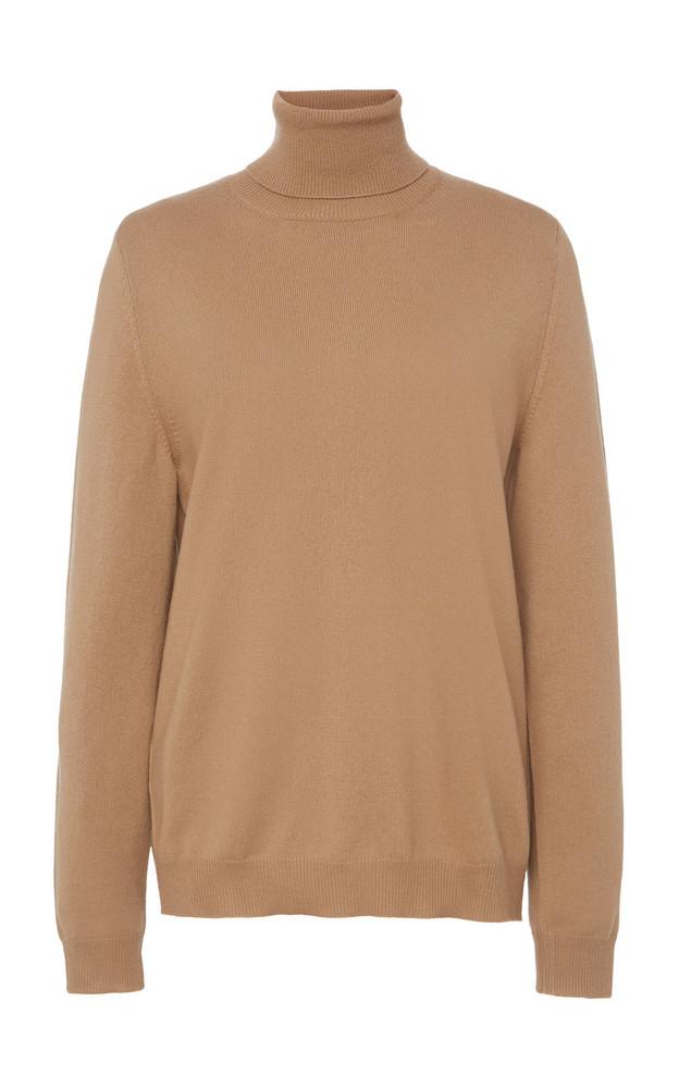 Prada Cashmere Turtleneck Sweater Size: 38 in neutral