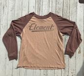 shirt,brown,lightbrown,cropped,crop tops,cotton,long sleeves