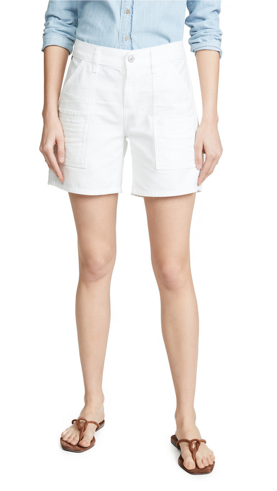 Citizens of Humanity Leah Shorts in white