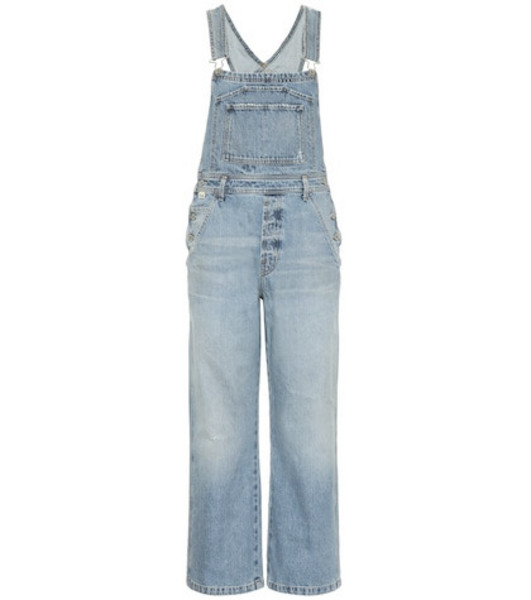 Citizens of Humanity Christie wide-leg overalls in blue