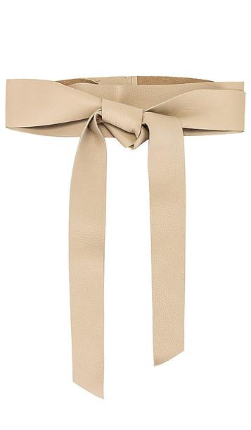 B-Low the Belt Demi Wrap Belt in Cream