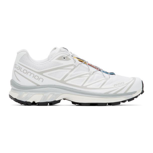 Salomon White Limited Edition XT-6 ADV Sneakers