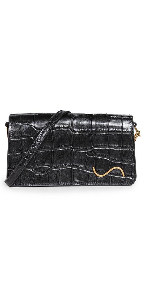 STAUD Carmelo Crossbody Bag in black