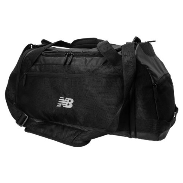 New Balance Men's & Women's Stealth Performance Duffle Bag - Black (NB-1410BK)