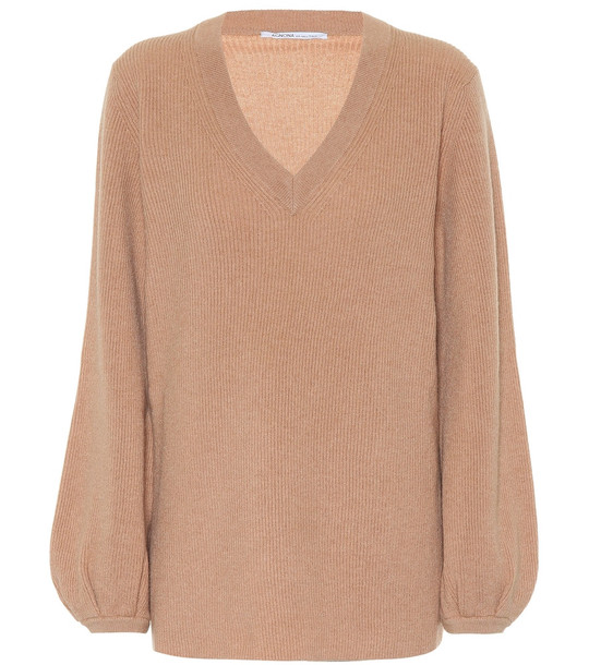 Agnona Cashmere sweater in beige