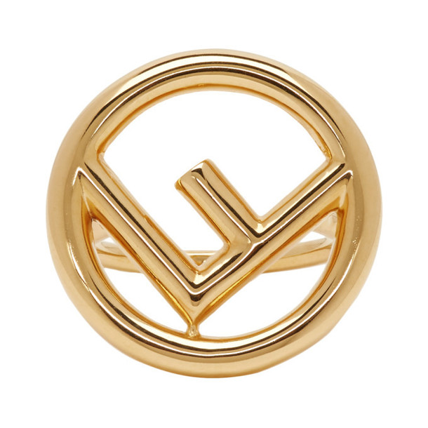 Fendi Gold 'F is Fendi' Ring