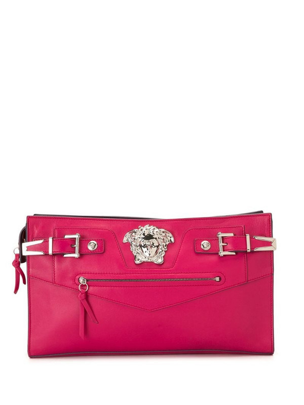 Versace Pre-Owned Medusa clutch in pink