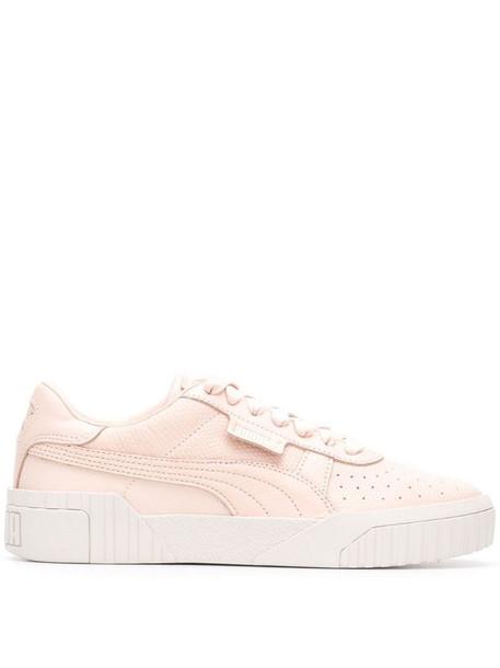 Puma Cali Emboss sneakers in pink