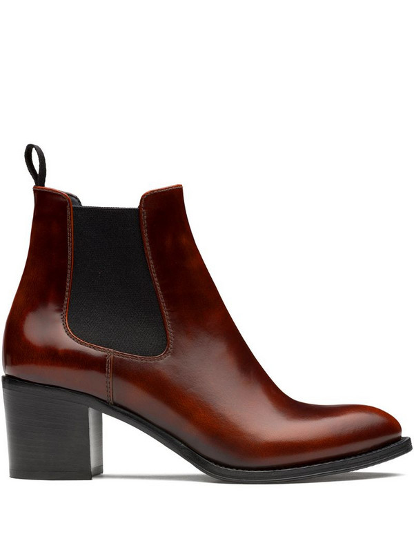 Church's Shirley 55mm polished ankle boots in brown