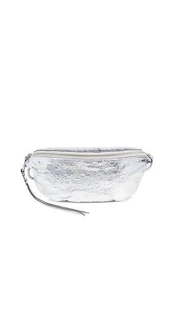 Rebecca Minkoff Bree Belt Bag in silver