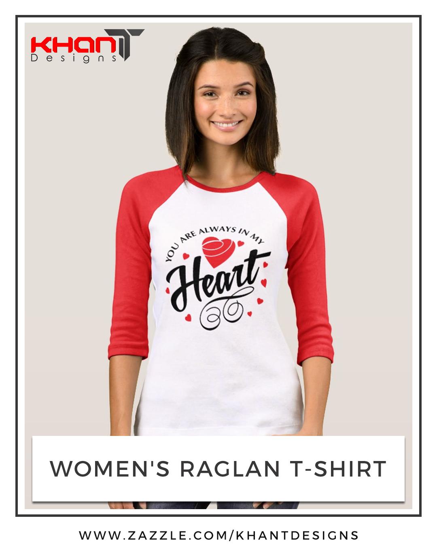 top raglan t-shirt women t shirts white shirt fashion heart love