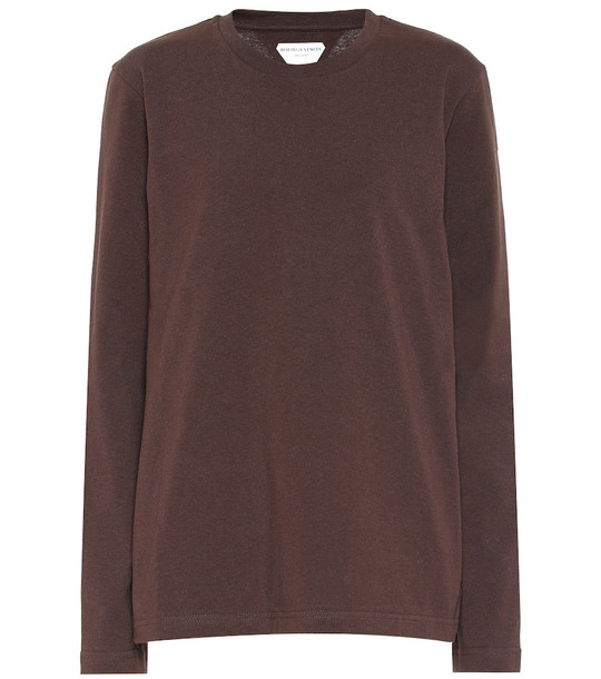 Bottega Veneta Cotton sweater in brown