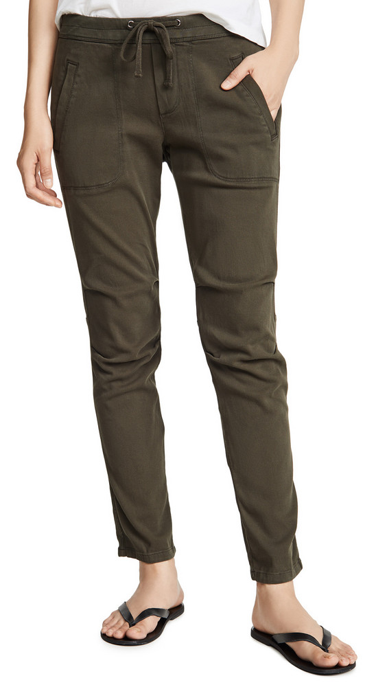 James Perse Super Soft Twill Pants in green
