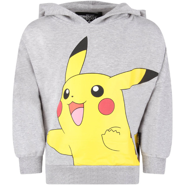Jeremy Scott Grey Boy Sweatshirt With Pikachu