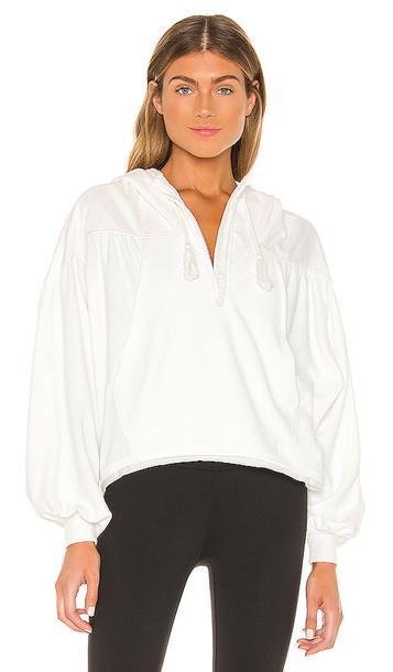 Free People X FP Movement Let It Go Sweatshirt in White