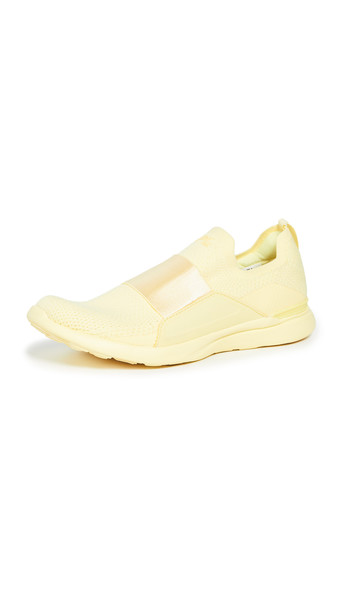 APL: Athletic Propulsion Labs TechLoom Bliss Sneakers in yellow