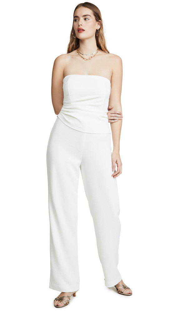 Ronny Kobo Ambre Jumpsuit in white