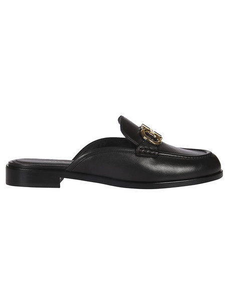 Salvatore Ferragamo Gancini Mules in black