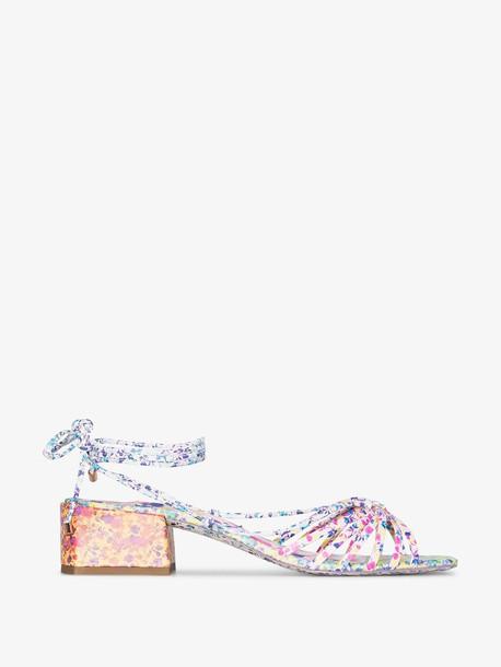 Sophia Webster multicoloured Laurellie 40 floral print leather sandals