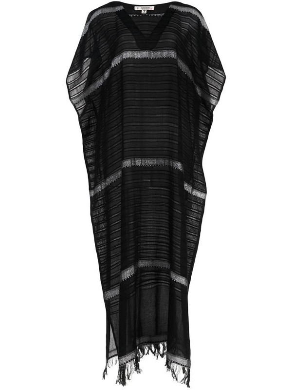 lemlem Tikuri kaftan dress in black