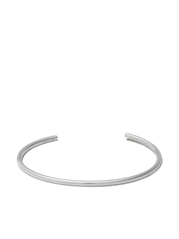 Le Gramme polished bangle bracelet in silver