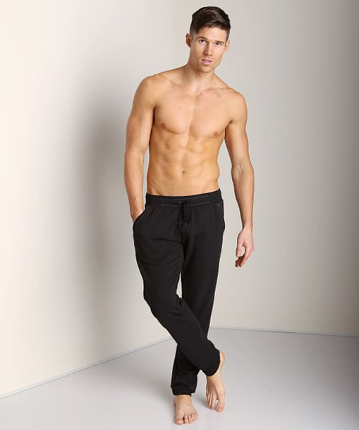 pants mens sauvage activewear sweatpants white black