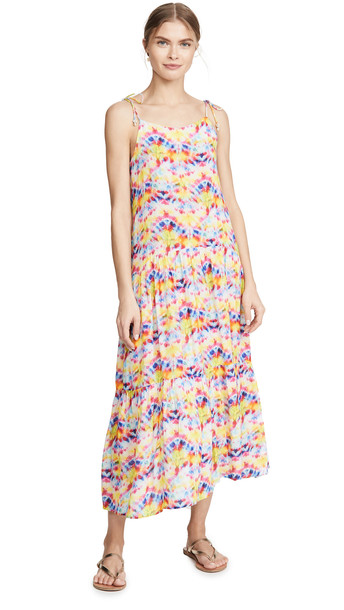 Playa Lucila Tie Dye Dress in multi
