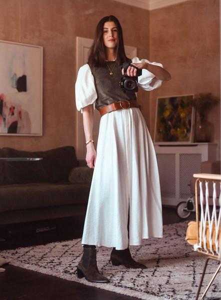 thank fifi blogger blouse shoes jewels top dress belt sweater jeans