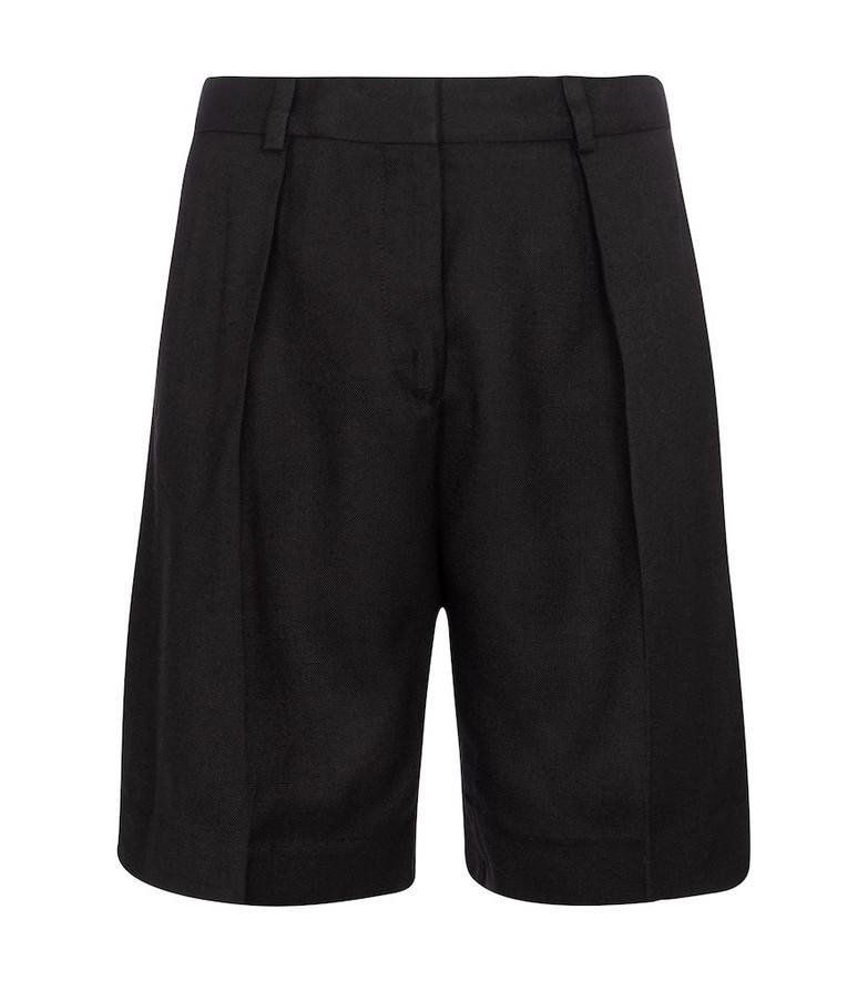 Victoria Victoria Beckham Mid-rise Bermuda shorts in black