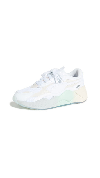 PUMA RS-X Gradient Sneakers in white