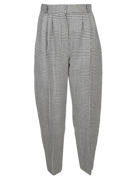 Alexander McQueen Trousers in black / white