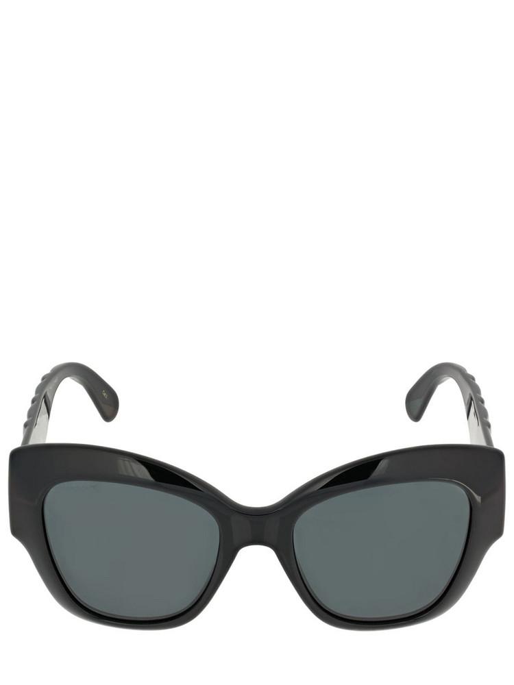 GUCCI Gg0808s Round Acetate Sunglasses in black / grey