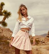skirt,top