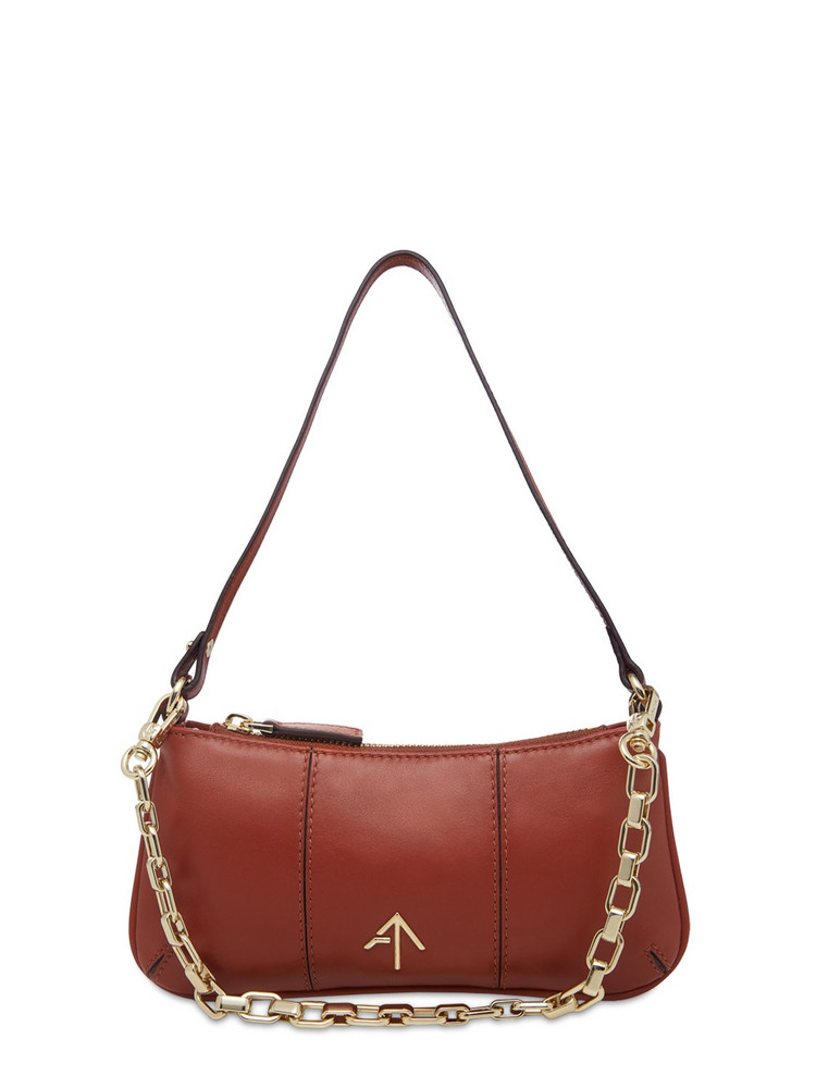 MANU ATELIER Mini Pita Soft Leather Shoulder Bag