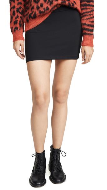 Susana Monaco Slim Miniskirt in black