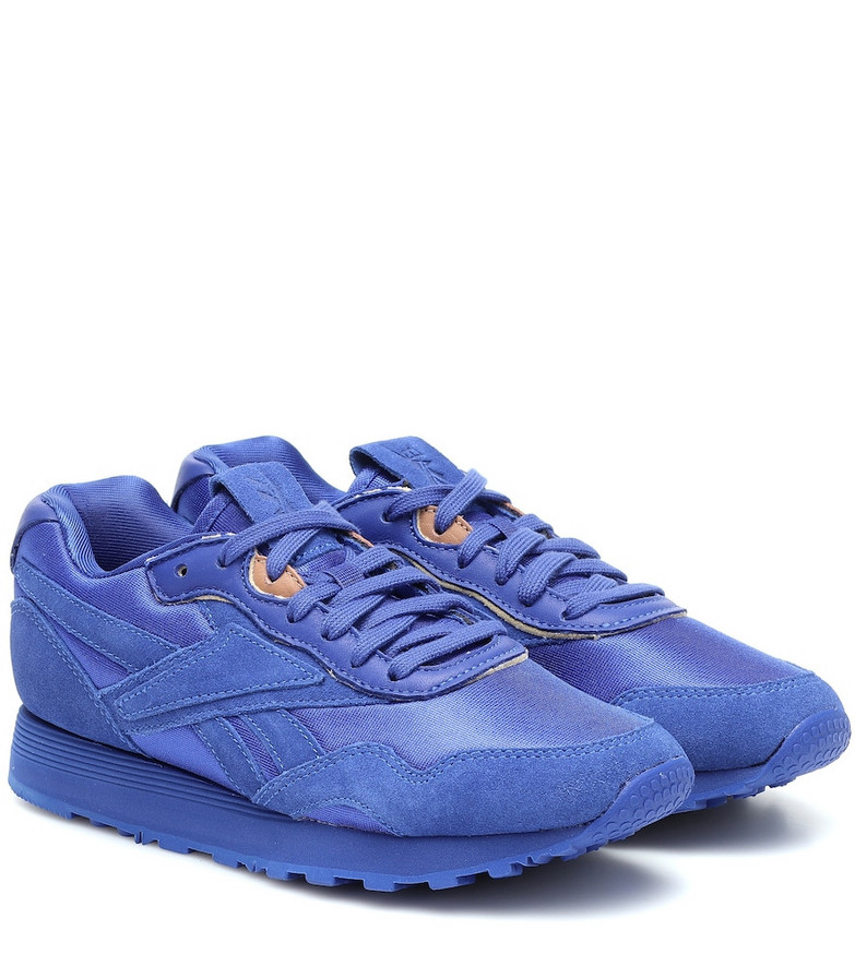 Reebok x Victoria Beckham Rapide suede sneakers in blue