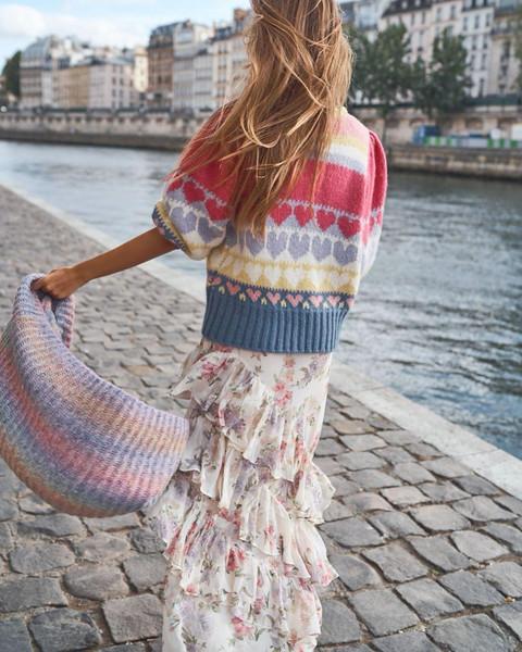 sweater scarf dress