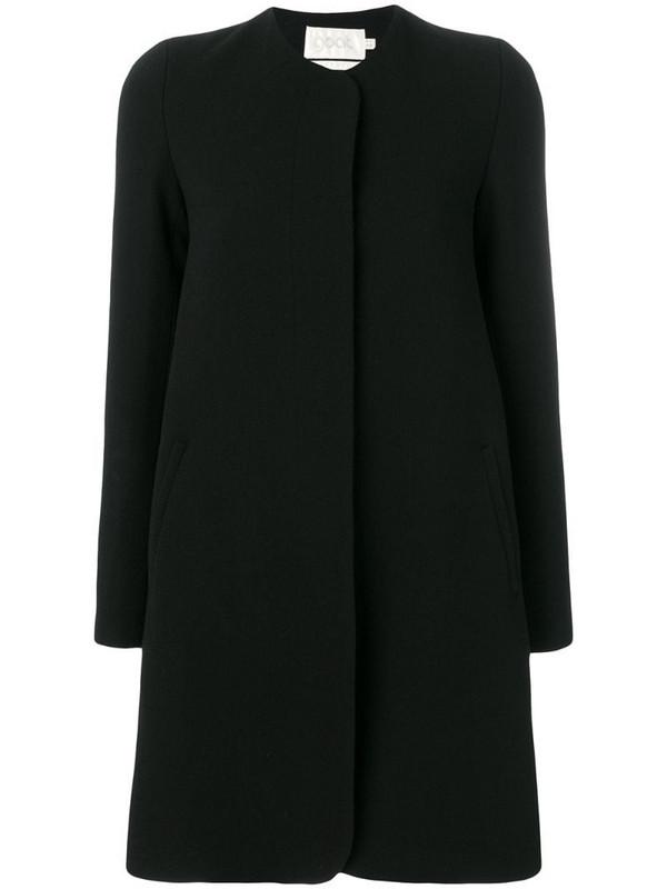 Goat Redgrave coat in black