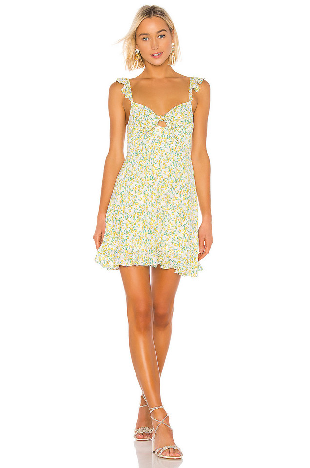 ASTR the Label Marla Dress in white