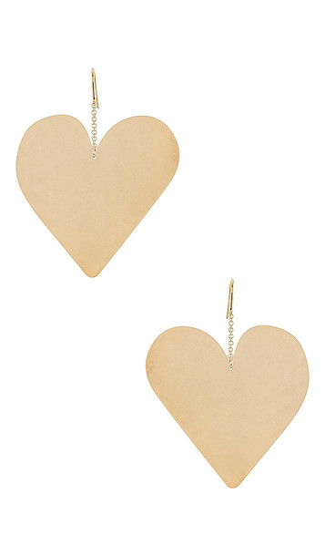Isabel Marant Boucle Orielle Earring in Metallic Gold