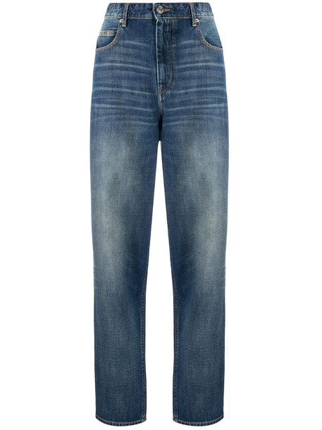 Isabel Marant Étoile light-wash tapered jeans in blue