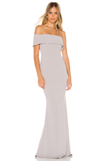 Katie May Titan Gown in gray