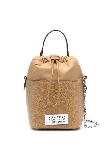 Maison Margiela Numbers bucket bag in brown