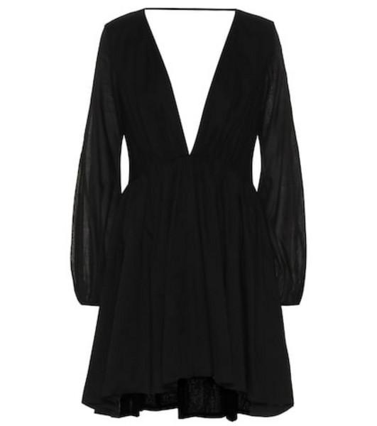 Kalita Exclusive to Mytheresa – Aphrodite cotton minidress in black
