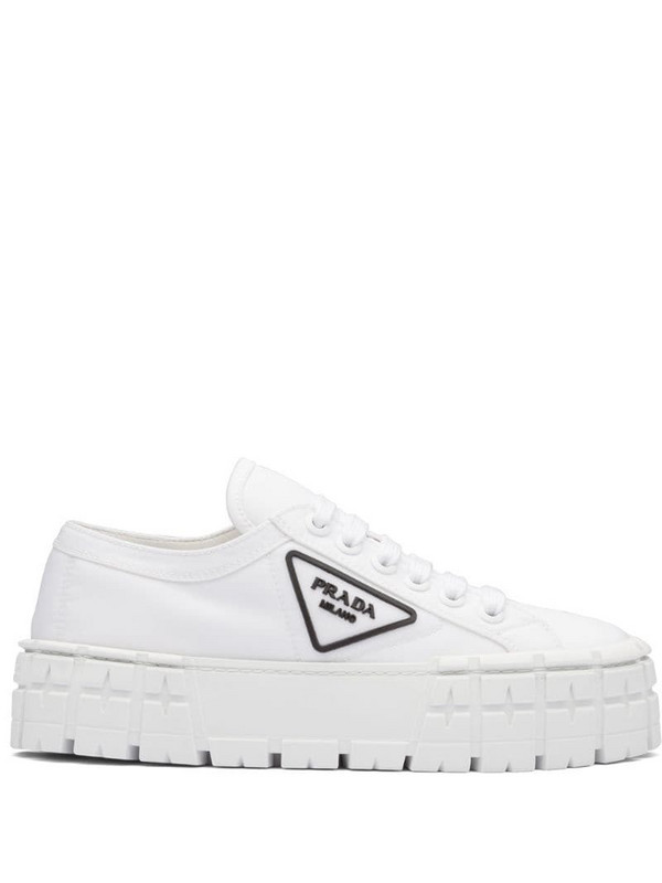 Prada Tyre low-top sneakers in white
