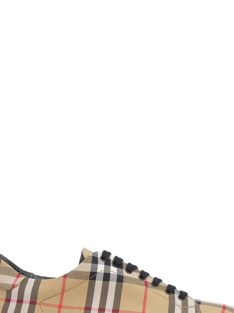 Burberry Fabric Lace-up Sneakers