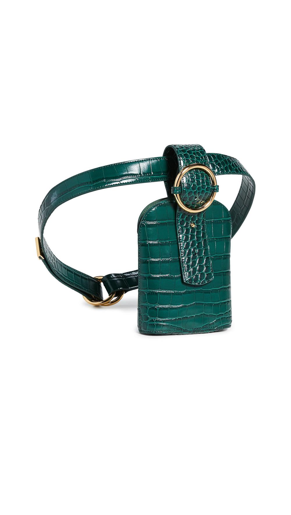 Parisa Wang Addicted Belt Bag in green