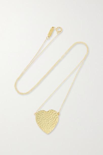 Jennifer Meyer - Hammered 18-karat Gold Necklace