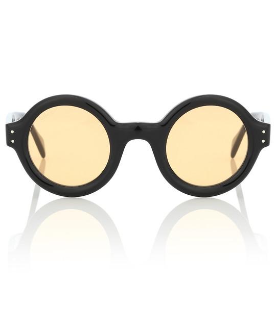 Gucci Round sunglasses in black