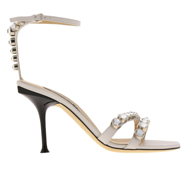 Sergio Rossi Heeled Sandals Shoes Women Sergio Rossi in white